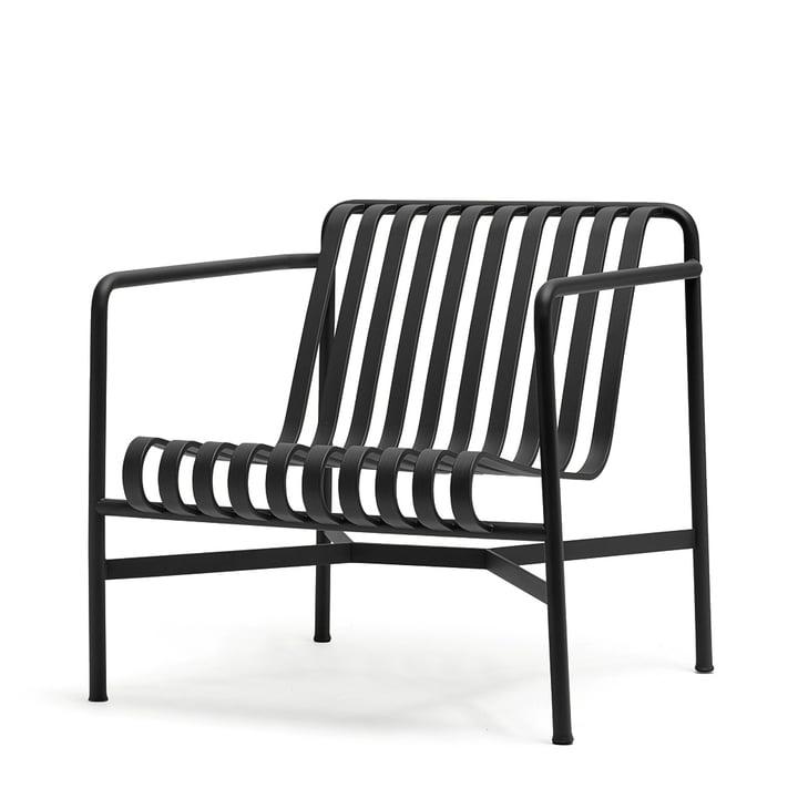 Palissade Lounge Chair Low van Hay in antraciet