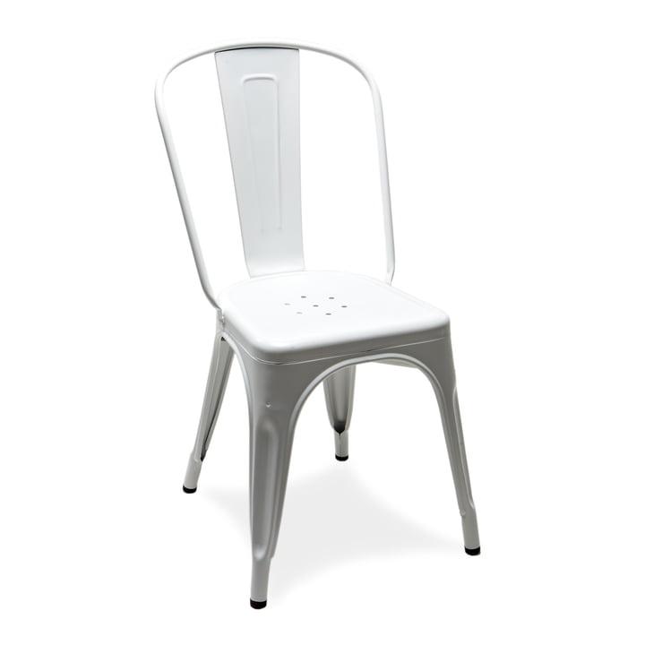 De A Chair van Tolix in glanzend wit