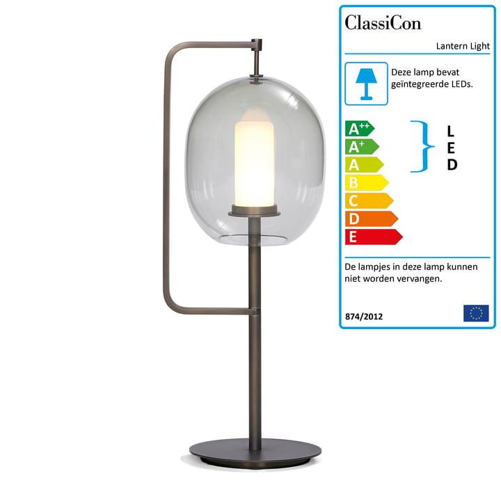 Lantaarn Light Table Lamp van ClassiCon in messing