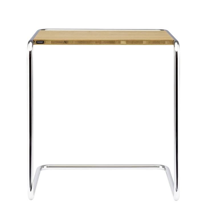 B 97 een Set tafel van Thonet in chroom / eiken geolied (Zuivere Materialen)
