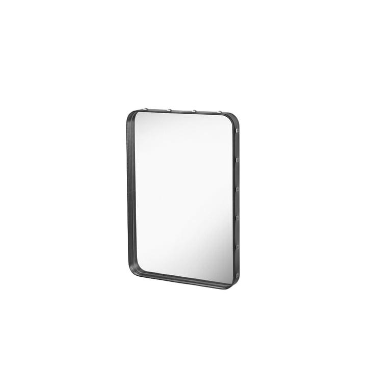 Adnet spiegel 70 x 48 cm van Gubi in zwart