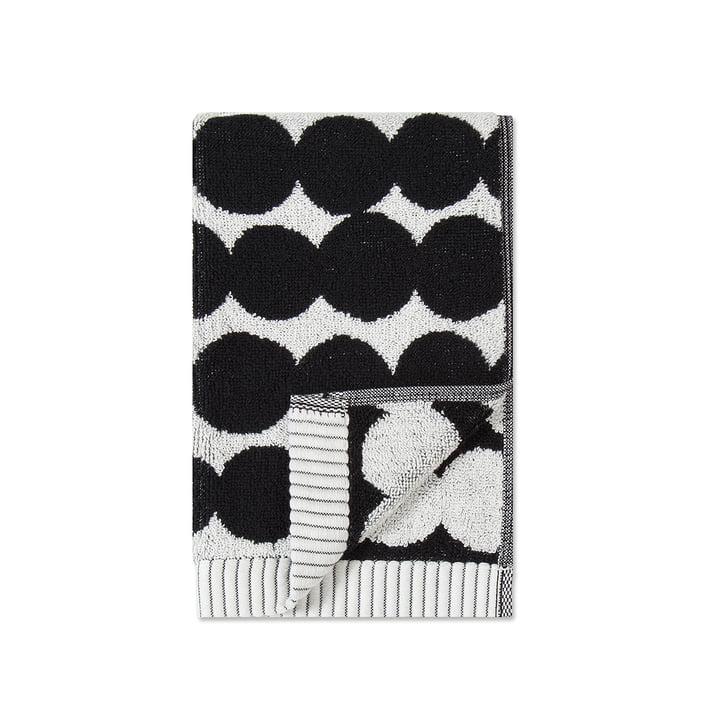 Räsymatto gastendoek 30 x 50 cm van Marimekko in zwart