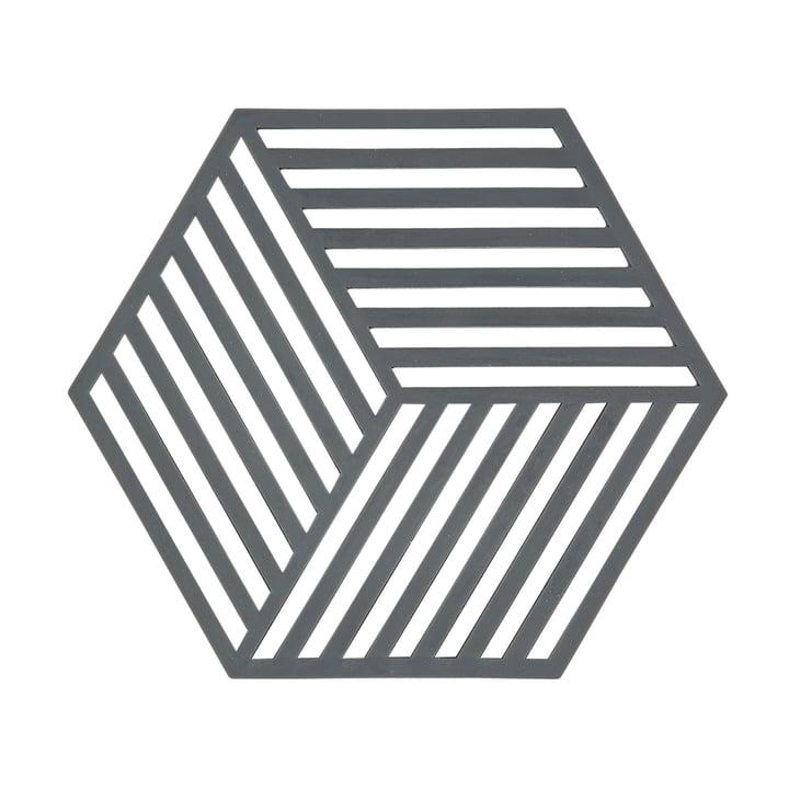 The Zone Denmark - Hexagon onderzetter in grijs