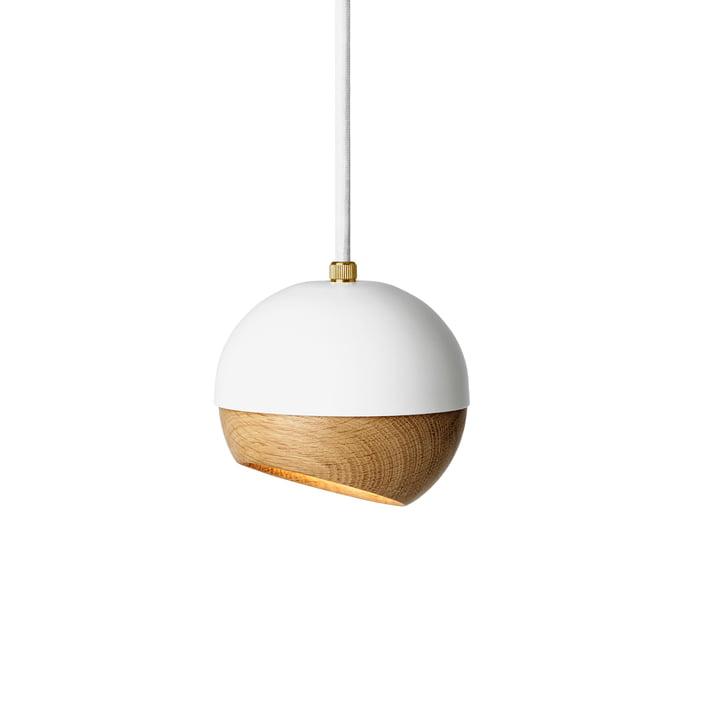 Ray hanglamp Ø 11,9 cm van Materieel in Wit