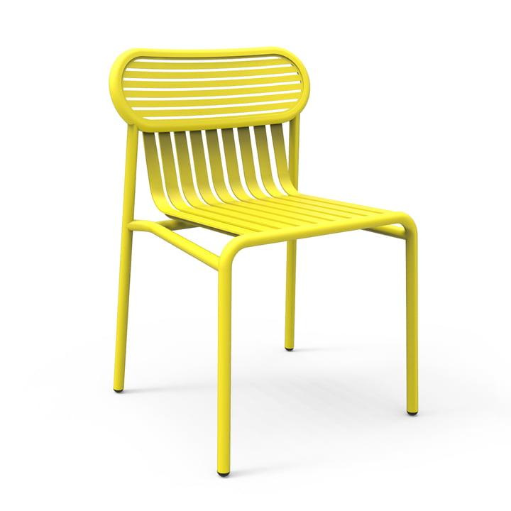 Petite Friture - Week-End Outdoor Chair, geel (RAL 1016)
