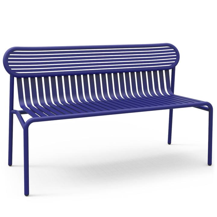 Petite Friture - Week-Eind Bench, blauw (RAL 5002)