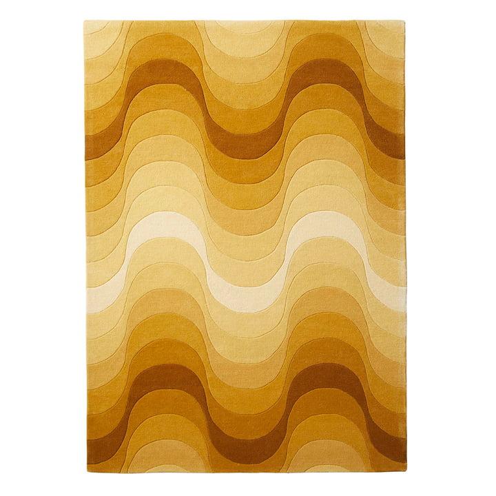 De Verpan - Golfkleed, 240 x 170 cm in geel
