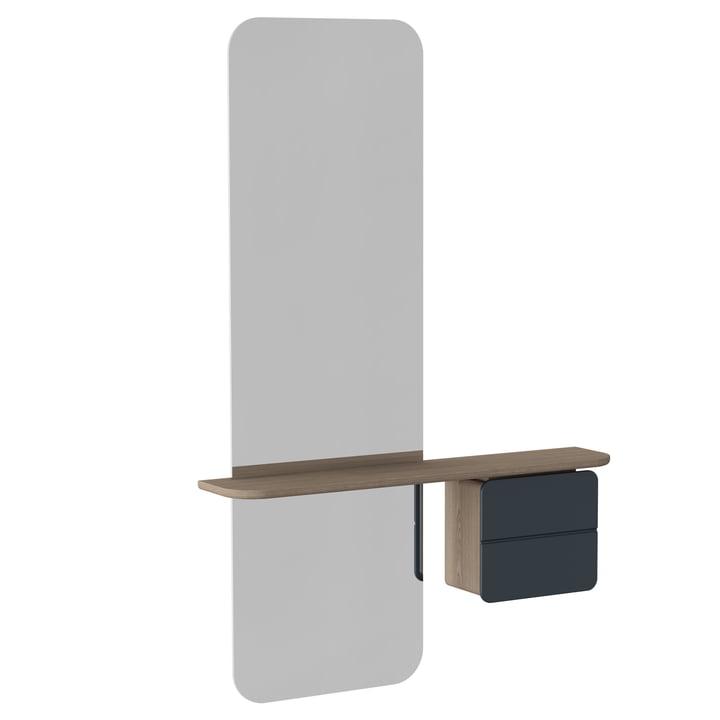 Umage - nog een spiegel, antracietgrijs
