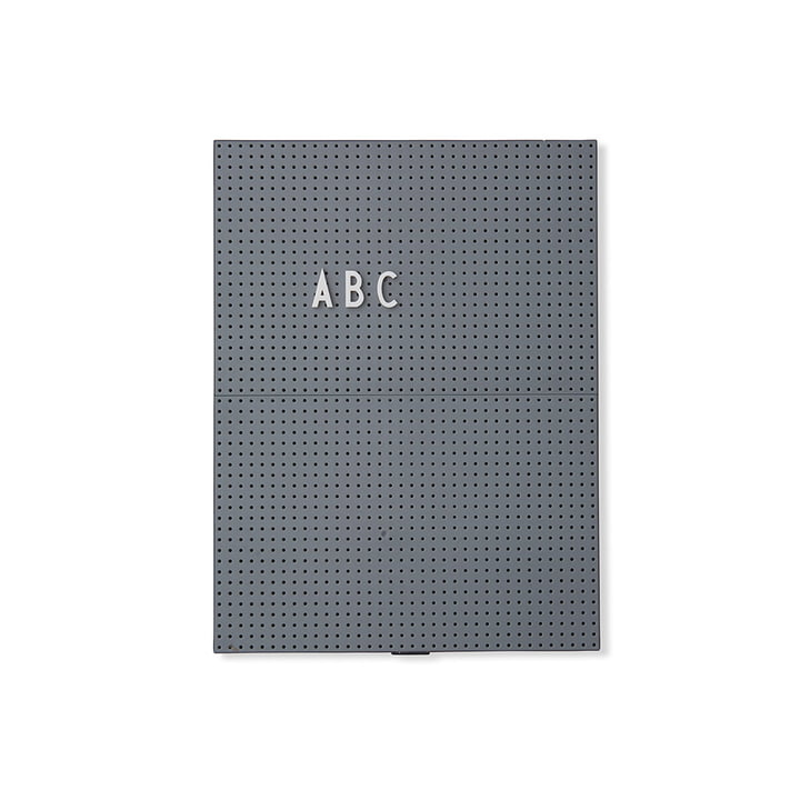De ontwerpbrieven - Brievenbord A4, donkergrijs