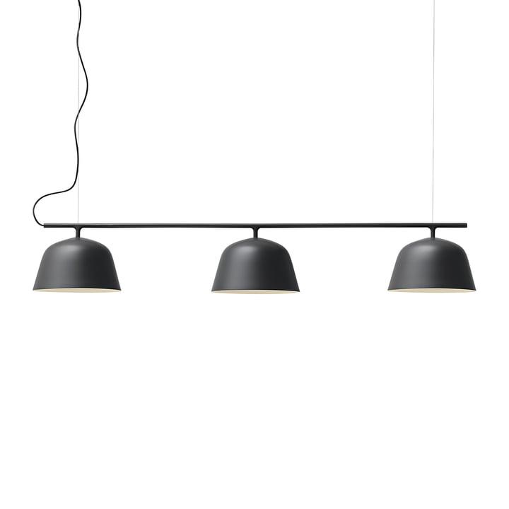 Ambit Rail hanglamp van Muuto in het zwart
