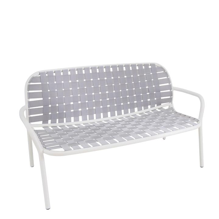 Yard Loungesofa uit Emu in wit/grijs