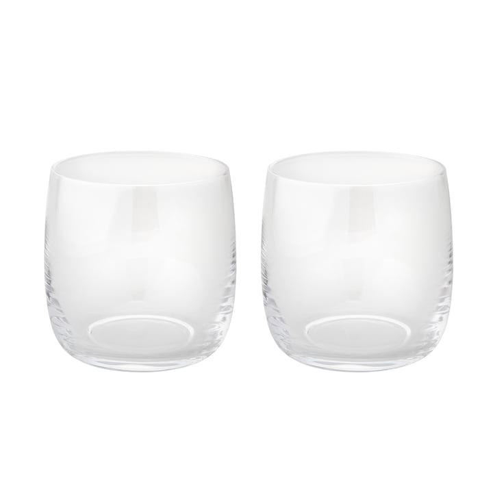 Foster Waterglas 0,2 l set van 2 van Stelton gemaakt van glas.