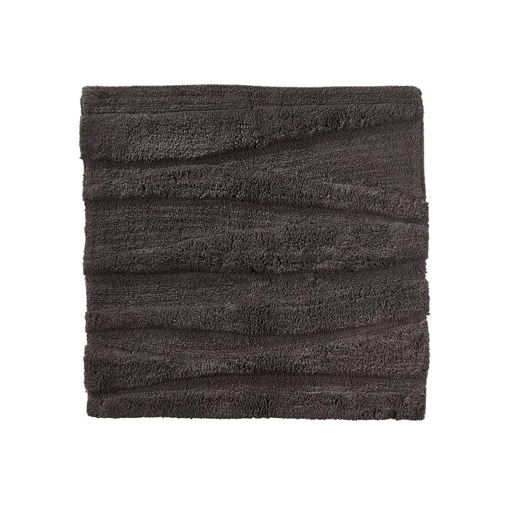 De Zone Denemarken - Flow Bathmat, 65 x 65 cm, antraciet
