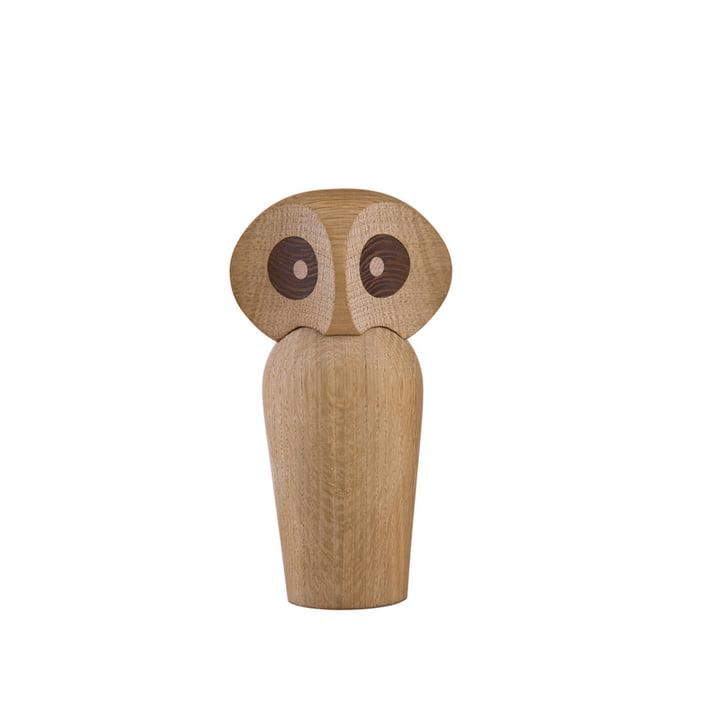 ArchitectMade - Uil mini, natuurlijk eikenhout