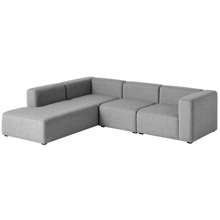 Hooi - Mags Sofa, hoekcombinatie 2, links / grijs (Hallingdal 116)