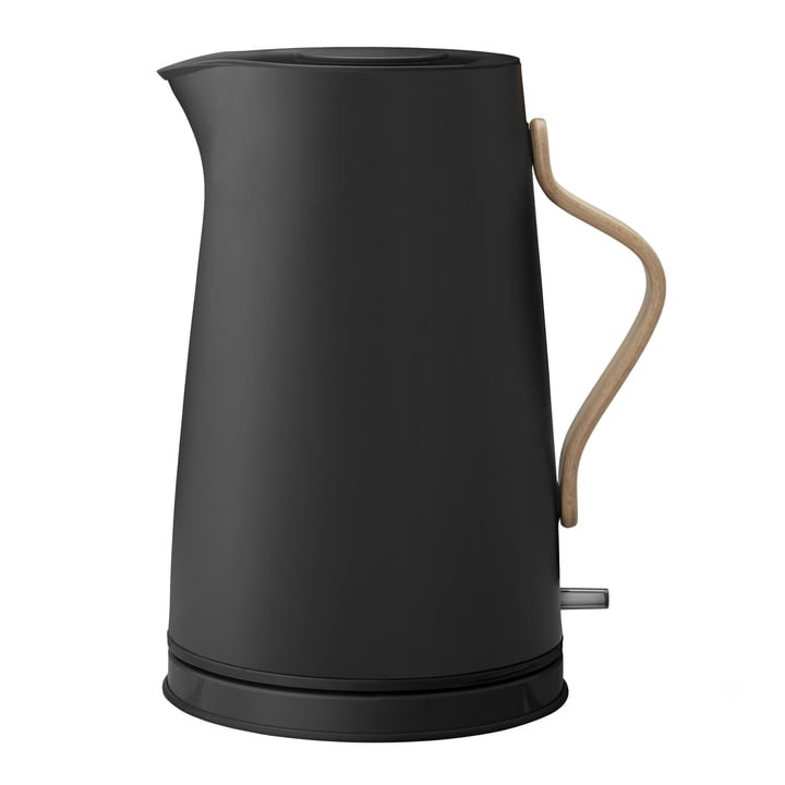 Emma elektrische waterkoker 1,2 l van Stelton in mat zwart
