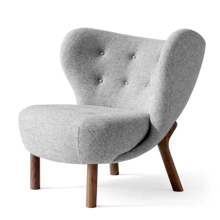 Kleine Petra Lounge Chair van &traditie in notenhout / Hallingdal 130