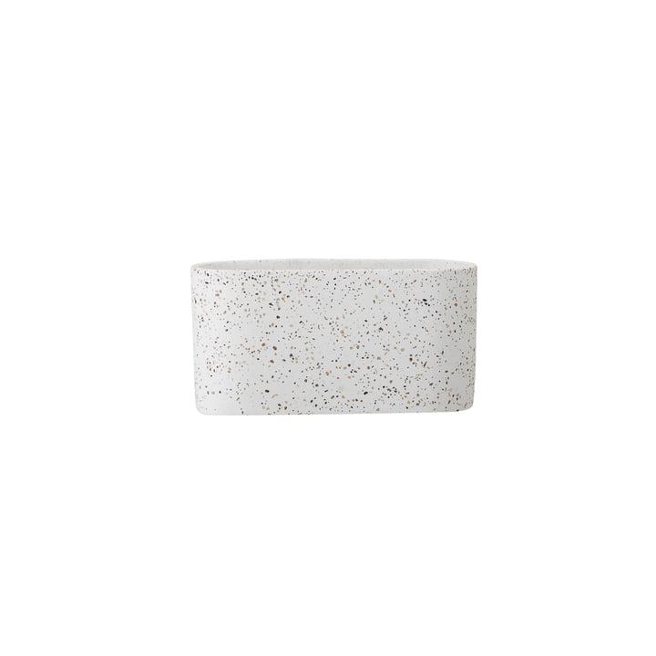 Terrazzo bloempot 20 x 8 cm van Bloomingville