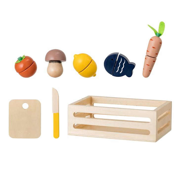 Bloomingville - Speelgoed groente doos, kleurrijk (8 stuks)