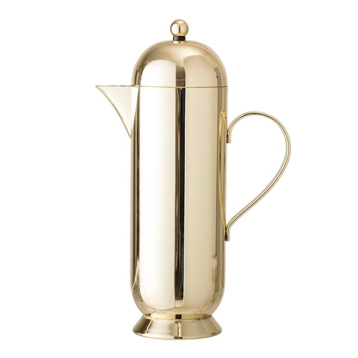 Koffiepot van Bloomingville - Ø 10 x H 29 cm, goud