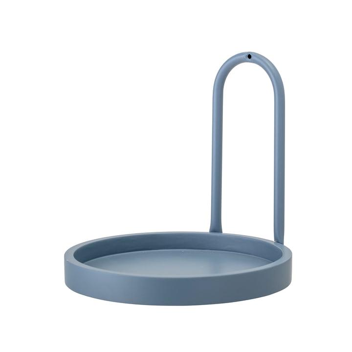 Lus wandplank Ø 25 cm van Bloomingville - blauw