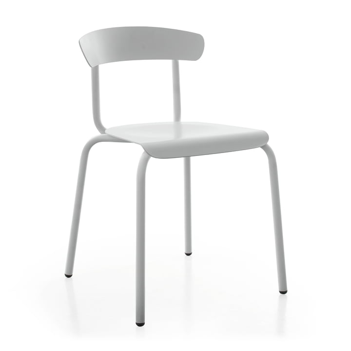 Alu Mito Outdoor Chair in lichtgrijs van Conmoto