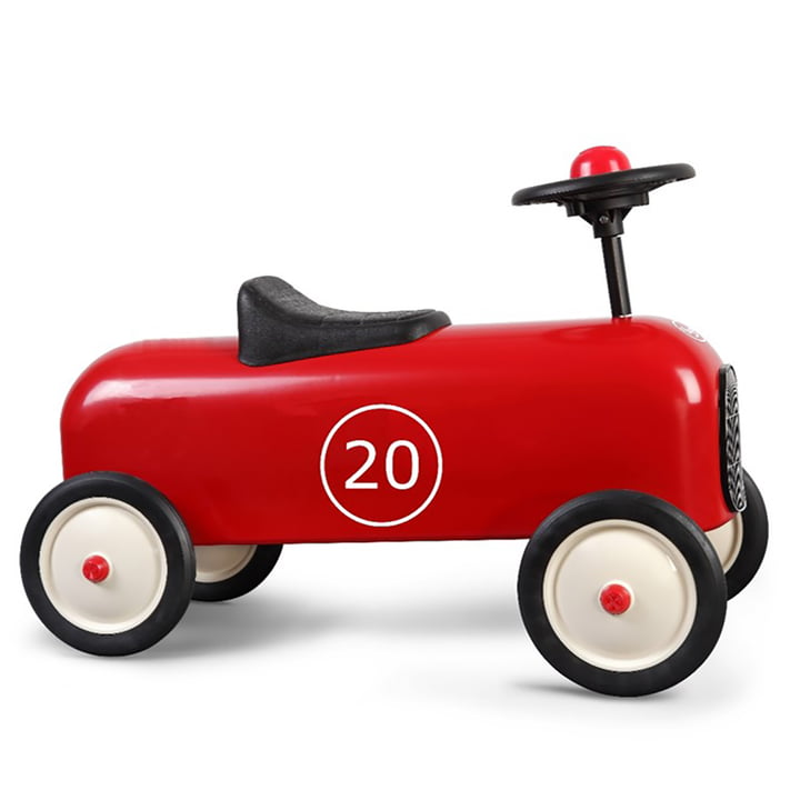Racer slide voertuig van Baghera in het rood