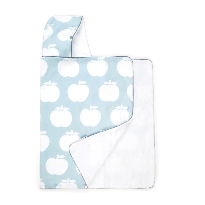Handdoekhouderappel byGraziela in blauw-grijs