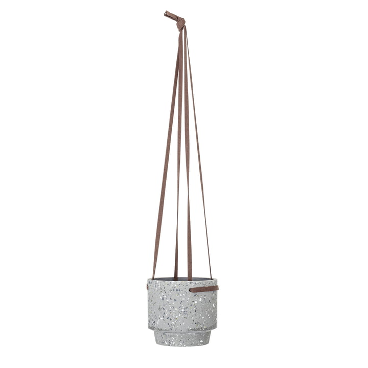 Bloomingville hangmand, Ø 15 x H 13 cm van beton