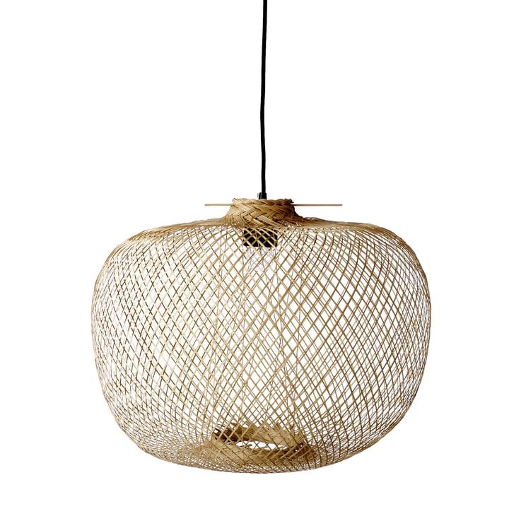 Bamboe hanglamp van Bloomingville, Ø 42 x H 30 cm