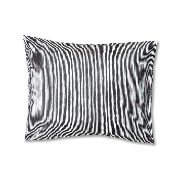 Varvunraita kussensloop van Marimekko, 50 x 60 cm in zwart/wit, 50 x 60 cm
