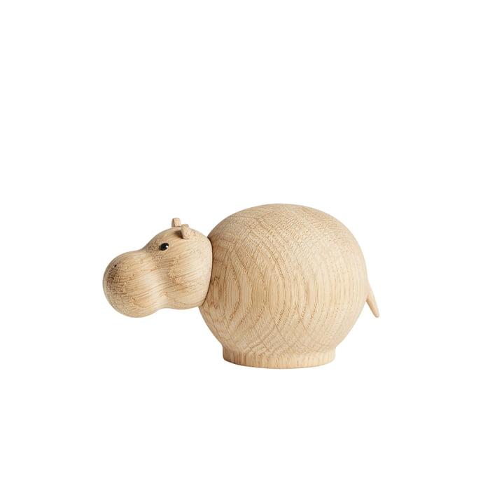 Hibo Nijlpaard in mini van Woud in eik mat gelakt