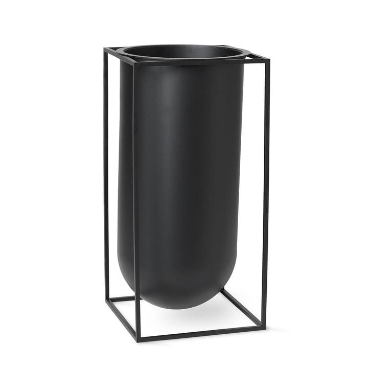 Kubusvaas Nolia van Lassen in zwart