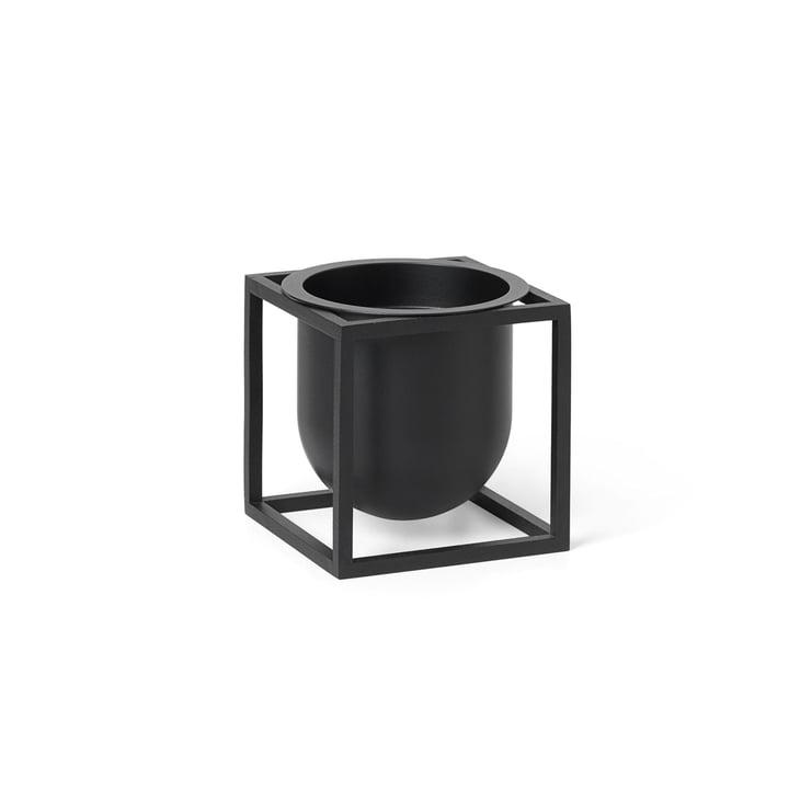 Kubus Flowerpot 10 van Lassen in zwart