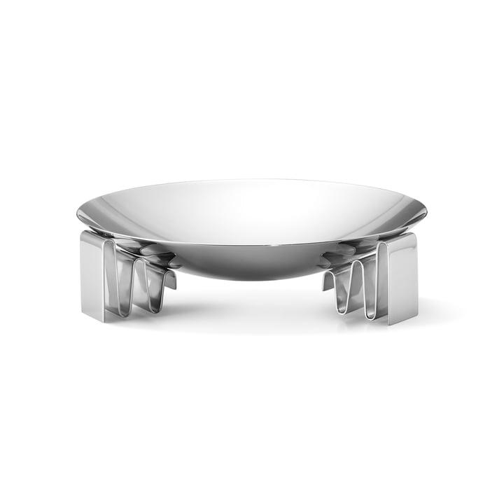 Frequency bowl medium in roestvrij staal gepolijst door Georg Jensen