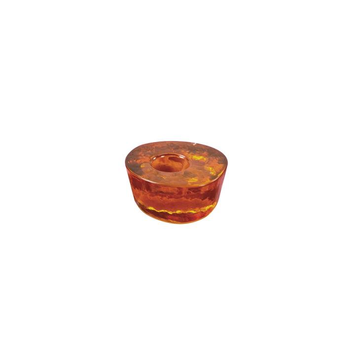 Atol kandelaar klein van Pulpo in amber