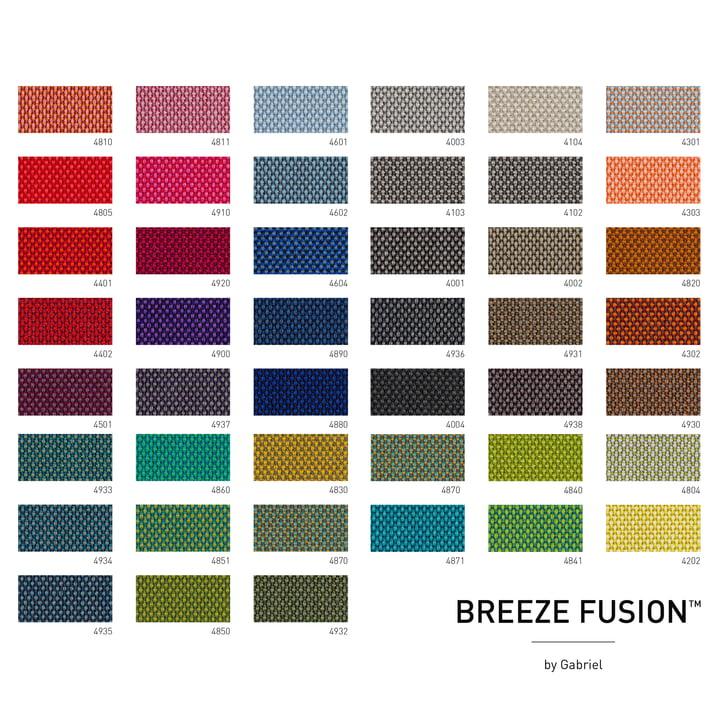 Stofkaart Breeze Fusion door Gabriel