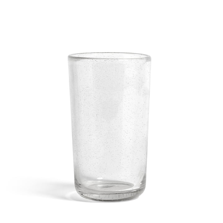 Bubble Vase Ø 14 x H 23 cm van Hooi in transparant