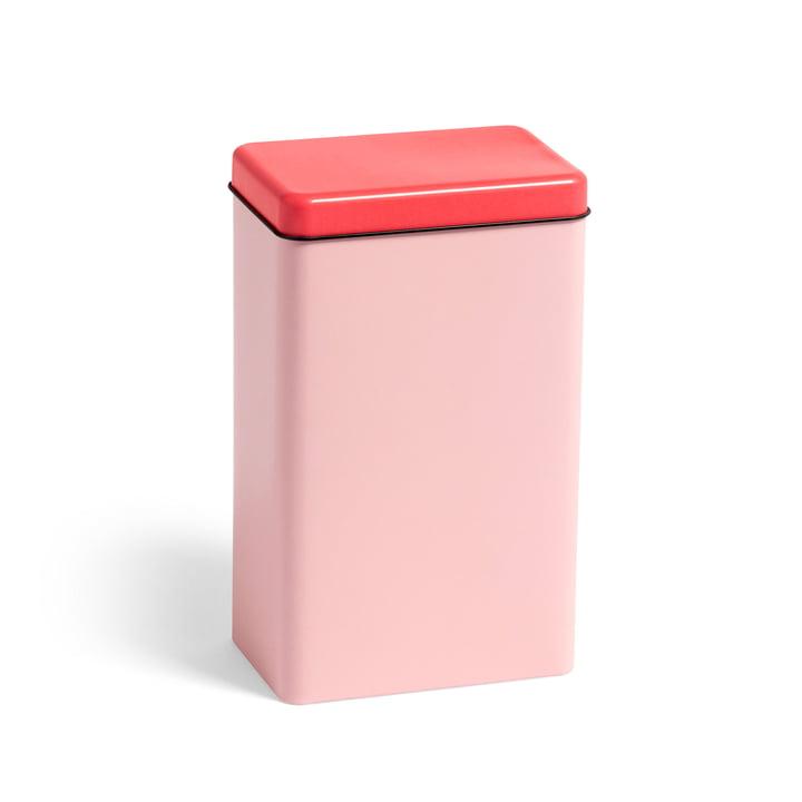 Blikje van Sowden Storage tin van Hay in het roze
