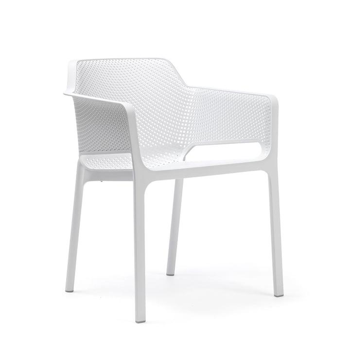 Net fauteuil van Nardi in wit