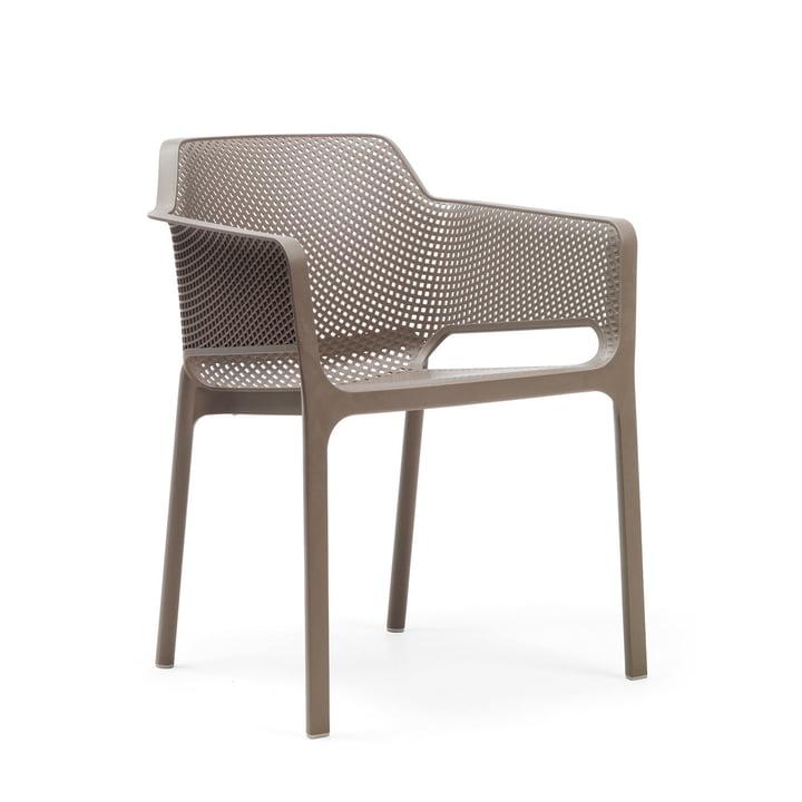Net fauteuil van Nardi in tortora