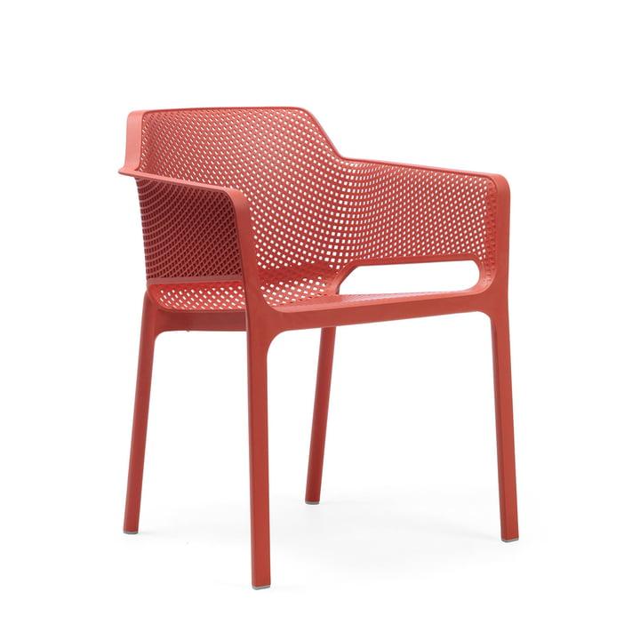 Net fauteuil van Nardi in koralle