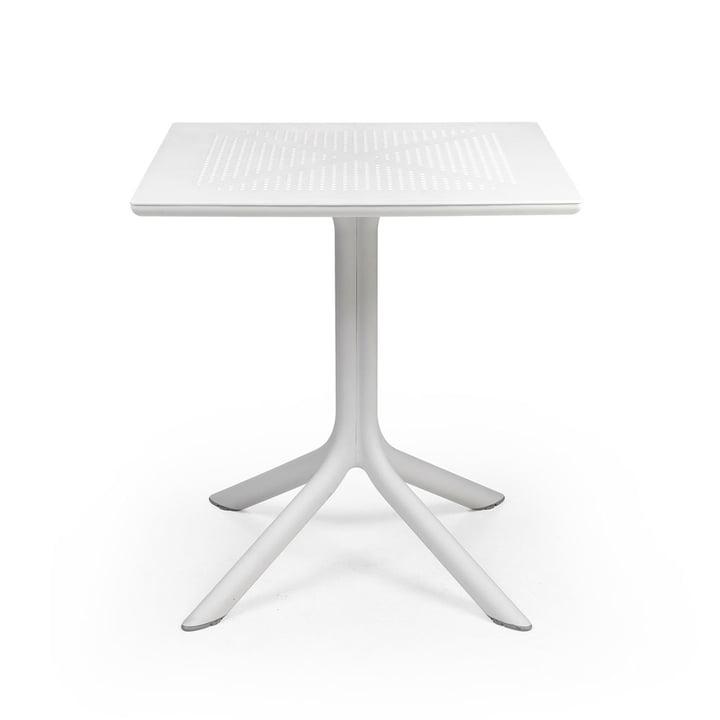 De ClipX 70 tafel in wit van Nardi