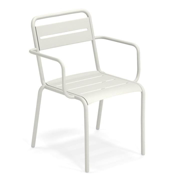 Ster fauteuil in wit van Emu