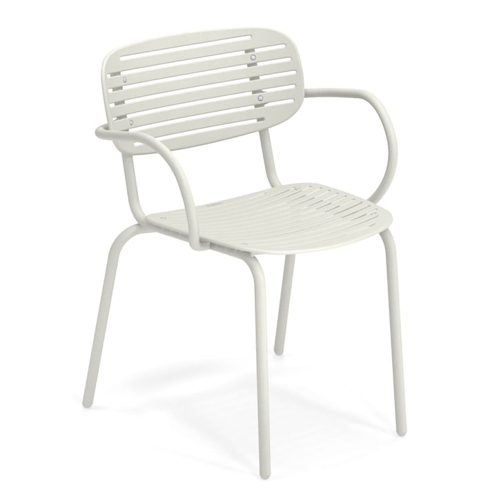 Mama fauteuil in het wit van Emu