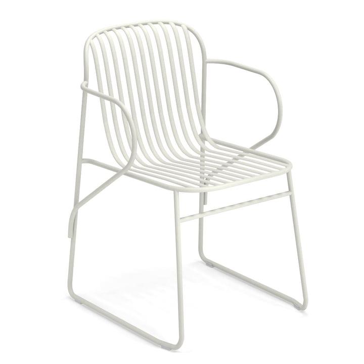 Riviera fauteuil van Emu in het wit