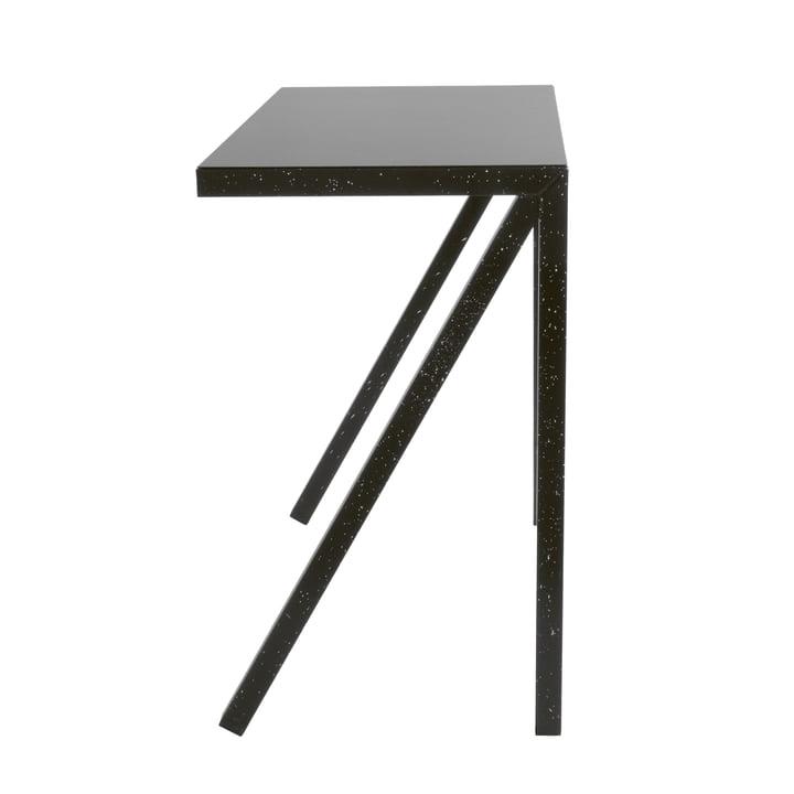 Bureaurama-staaftafel H 102,5 cm in zwart (geïnjecteerd wit) van Magis.