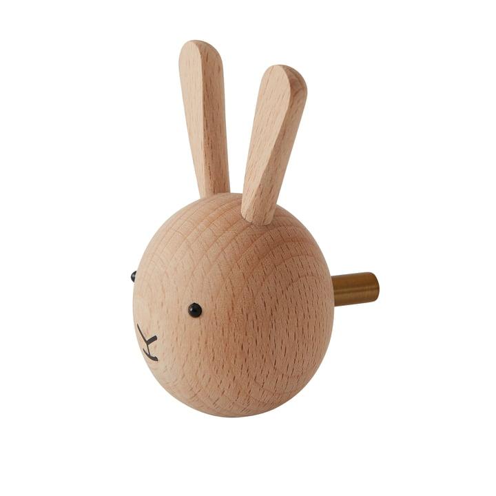 Kindermuurhaak konijntje van OYOYOY