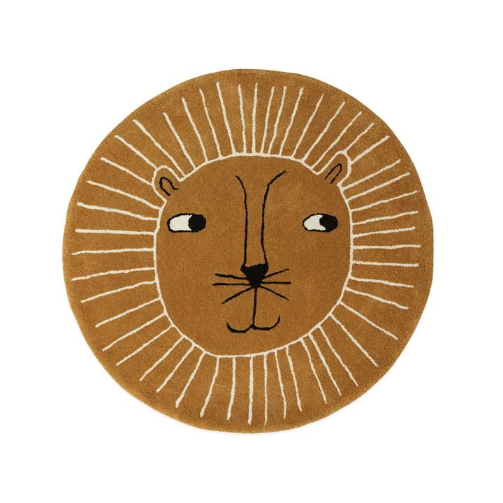 Kindertapijt leeuw Ø 95 cm van OYOYOY