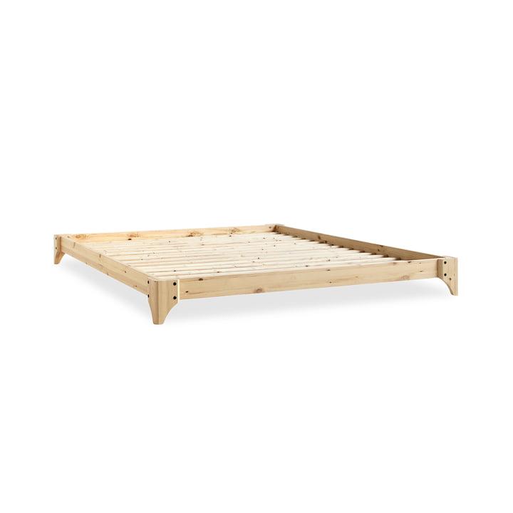 Elan bed, 140 x 200 cm in de natuur bij Karup Design